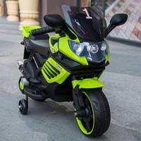 Эл-мобиль Т-7210 GREEN мотоцикл 6V4.5AH мотор 1*15W 77*38*50 ш.к. /1/