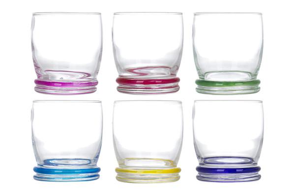 Набор низких стаканов LUMINARC CORTINA RAINBOW 6X310 мл (N0754)