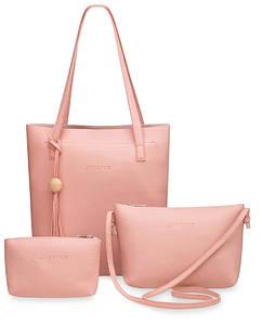 Комплект женских сумок 3 в 1 В ЦВЕТАХ!