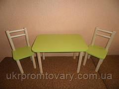 Столик і 2стульчика, Лайм, різна комплектація