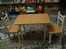 Столик и 2стульчика, Лайм, разная комплектация , фото 3