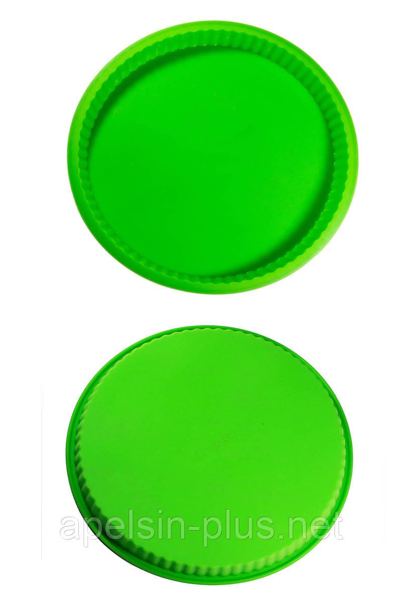 Силиконовая форма для выпечки Коржик  25 см