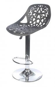 Барний стілець N7 чорний
