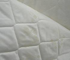 Матрасная ткань - Цветы Бежевые