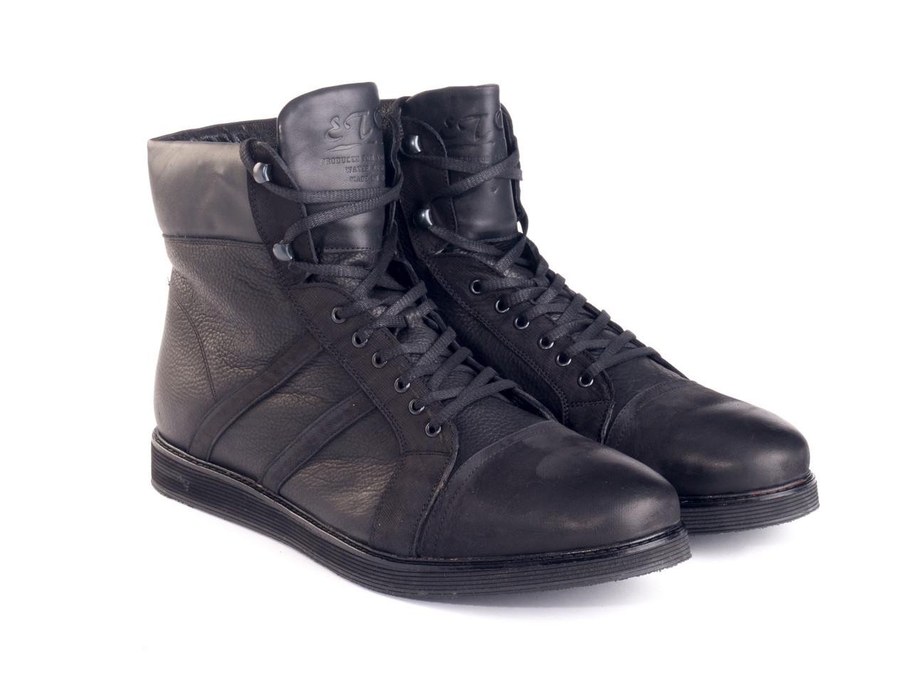 Ботинки Etor 8503-08-847-01-013 черные, фото 1