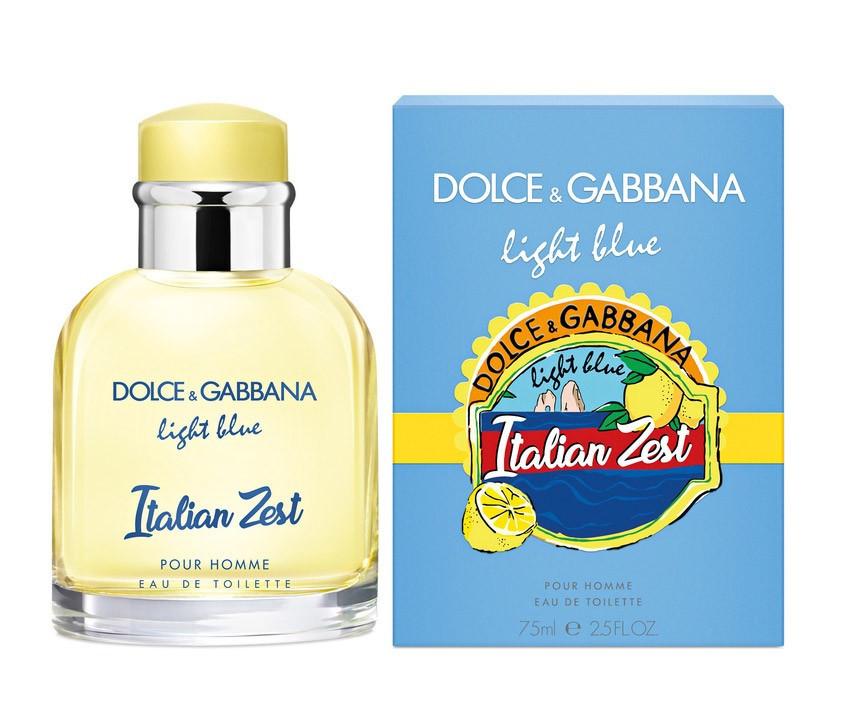 Мужской аромат Dolce&Gabbana Light Blue Italian Zest Pour Homme