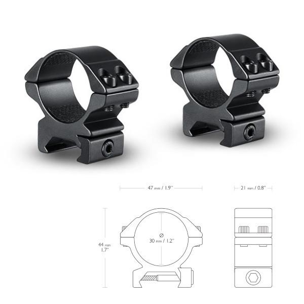 Аксессуары Hawke Кольца Matchmount 30mm/Weaver/Low