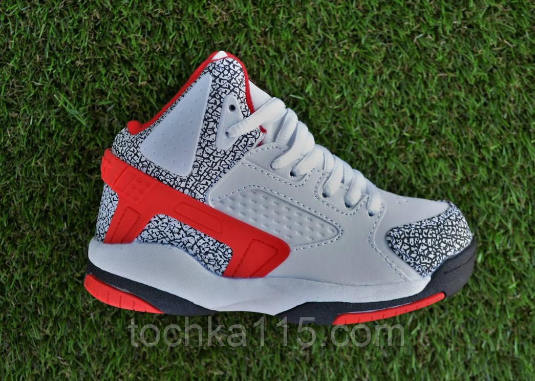 Детские кроссовки найк Nike air jordan rad красные 31-36, копия