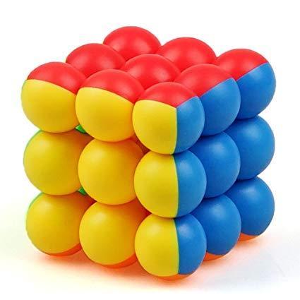 Кубик рубика YongJun YJ 3x3x3 YuanZhu Ball Cube (ВайДжей ЮуанЖу)