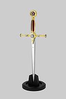 """Кинжал масонский, символ могущества и богатства + подставка """"СУПЕР КАЧЕСТВО"""""""
