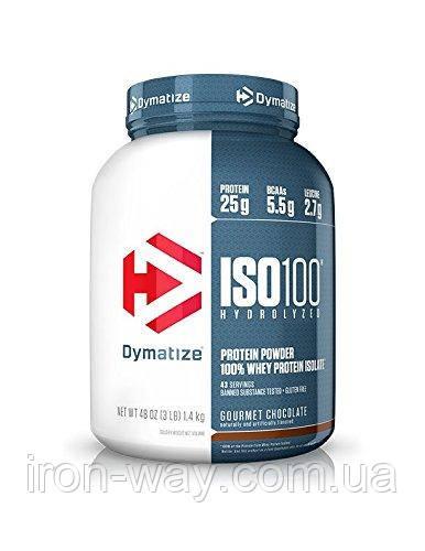 Dymatize ISO 100 Hydrolyzed 1.36 kg (Gurmet Chokolate)