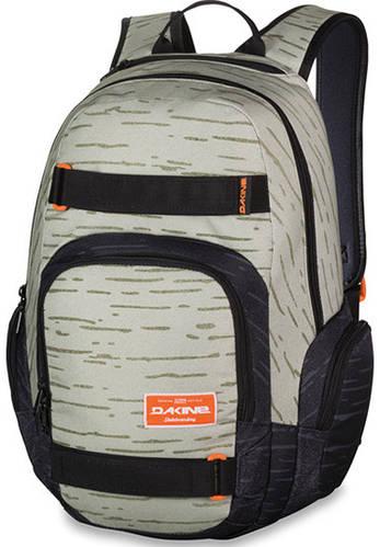 Удобный мужской городской скейтборд-рюкзак Dakine Atlas 25L Birch 610934865462 бежевый