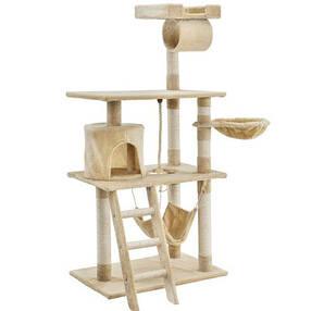 Когтеточка, домики, дряпка для кошек  141 см
