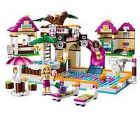 Конструктор Bela Friends 10160 Городской бассейн, 422 дет. аналог Лего, LEGO Friends 41008