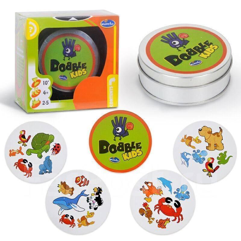 Настольная игра Dobble Kids (Доббл або Spot It!)