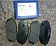 HI-Q sp1196 Тормозные колодки (передние) HYNDAI 581012SA70, KIA 581011DE00, фото 2