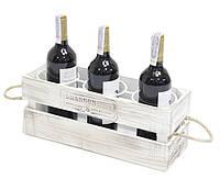 """Подставка для вина на 3 бутылки """"Ящик"""""""