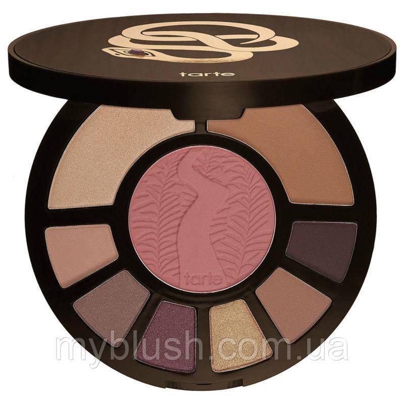 Палитра для маияж Tarte Rainforest After Dark Colored Clay Eye & Cheek Palette NEW IN BOX