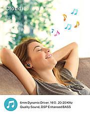 Bluetooth наушники CLOUDIO для спорта влагозащищенные с микрофоном, фото 2
