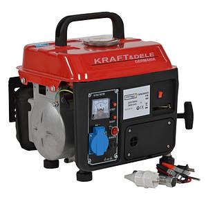 Электрогенератор бензиновый  KRAFT & DELE 1200W 12/230V