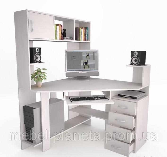 Угловой компьютерный стол - Флеш 33