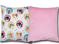 Наволочка на подушку для младенцев 40*40 minky в коляску и кроватку