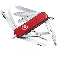 Нож Складной Мультитул Викторинокс Victorinox MIDNITE MINICHAMP (58мм, 16 функций), красный 0.6386