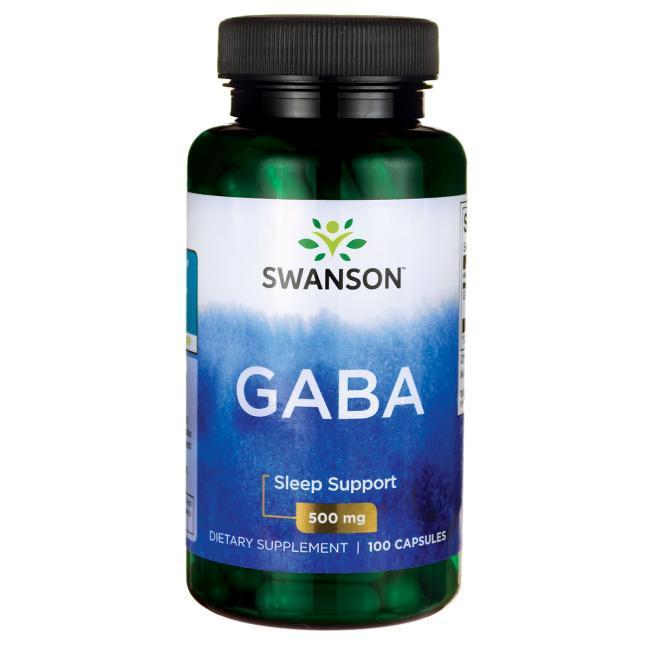GABA / ГАБА, 500 мг 100 капсул