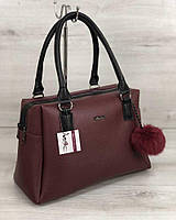 0cc6cbb16b7a Женская сумка бордового цвета в Одессе. Сравнить цены, купить ...