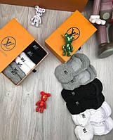 Носки Louis Vuitton копия реплика короткие хлопок в трех цветах