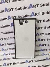 Чехол для 2D сублимации пластиковый на Sony Xperia Z (L36H) черный