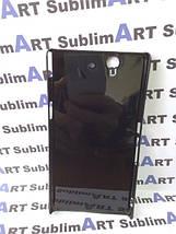 Чехол для 2D сублимации пластиковый на Sony Xperia Z (L36H) черный, фото 2