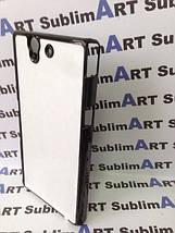 Чехол для 2D сублимации пластиковый на Sony Xperia Z (L36H) черный, фото 3