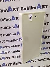 Чехол для 2D сублимации пластиковый на Sony Xperia Z (L36H) белый