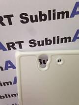Чехол для 2D сублимации пластиковый на Sony Xperia Z (L36H) белый, фото 2