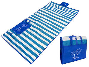 Пляжный мат с подушкой