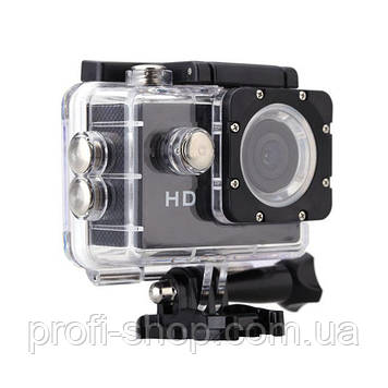 Экшн камера Sports Cam 720p 2' экран A7 Action camera водонепроницаемый бокс А 7 Waterproof 30m