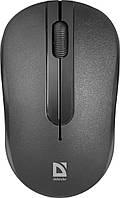 Мышка Defender Datum MM-285 Wireless Black