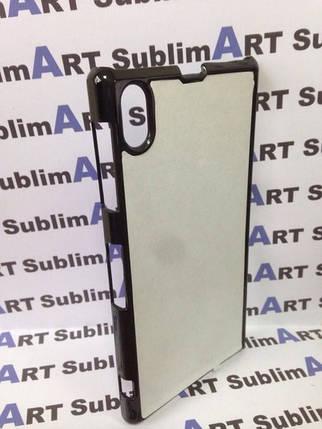 Чехол для 2D сублимации пластиковый на Sony Xperia Z1 (L39H) черный, фото 2