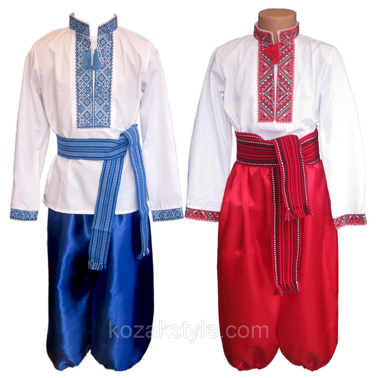Костюм український для хлопчика ( від 5 по 8 років) - Український одяг.  Патріотичний 0c1f9df1b2532