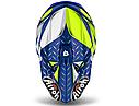 Шлем кроссовый Airoh Twist Iron (Blue), фото 3