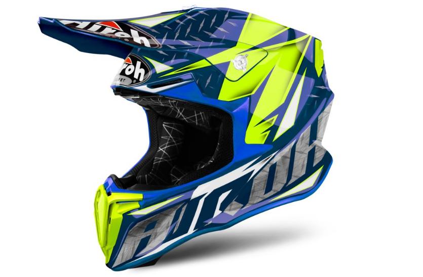 Шлем кроссовый Airoh Twist Iron (Blue)