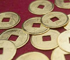 Монеты Фэн-шуй