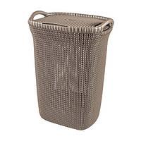 Корзина для белья Curver Knit  (57 л), фото 1