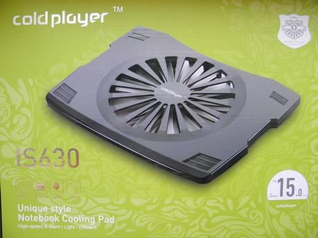 Подставка под ноутбук охлаждающая IS 630, фото 2