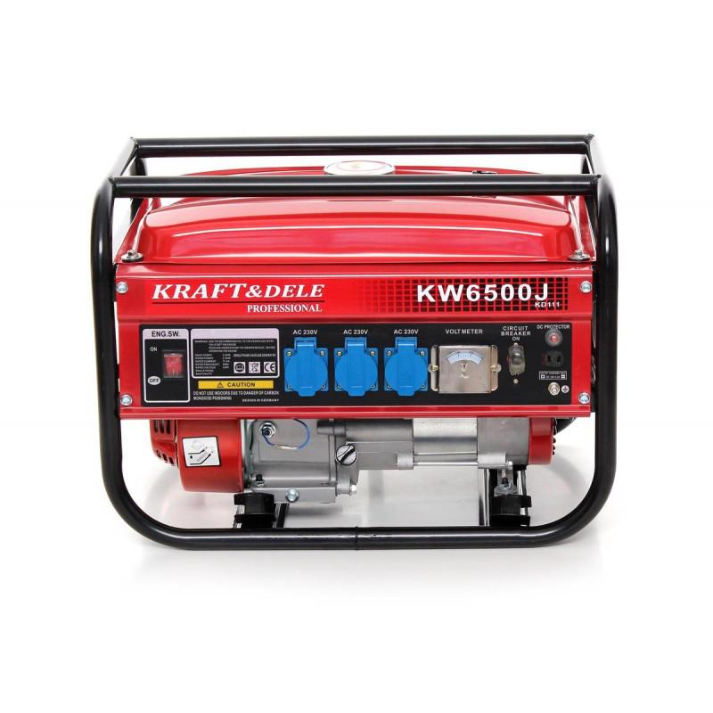 Генератор бензиновый Kraft&Dele  2500W / 230V / 6,5KM