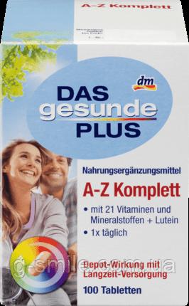Mivolis DAS gesunde PLUS A-Z Komplett Tabletten, 100 St