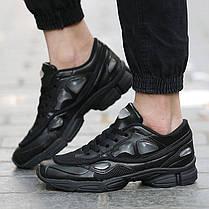 Женские кроссовки Adidas X Raf Simons Ozweego 2 Black S74585, Адидас Раф Симонс Озвиго, фото 2