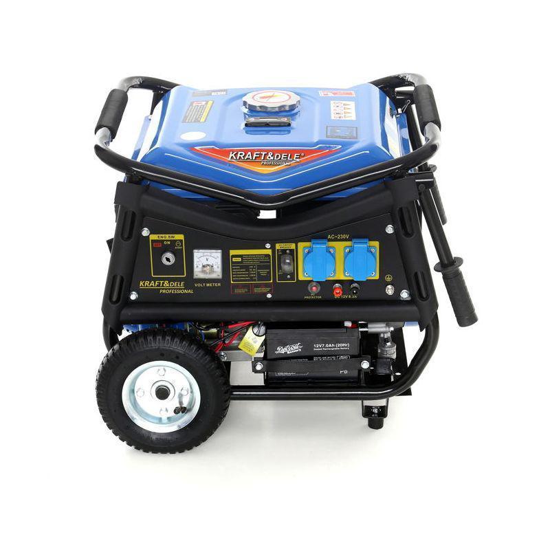 Генератор бензиновый Kraft&Dele  3000 Вт 12/230 В