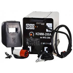 Зварювальний апарат Kraft & Dele MIG/MAG Flux 200А
